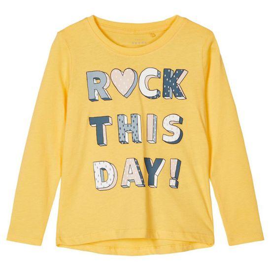 Реглан Name it Rock day, арт. 211.13186923.SGOL, цвет Желтый