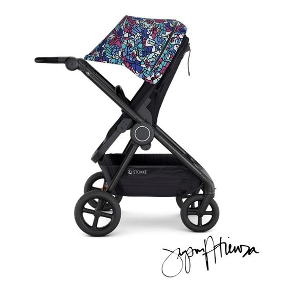 Прогулочная коляска Stokke Beat Limited Edition by Jayson Atienza, арт. 539505, цвет Black