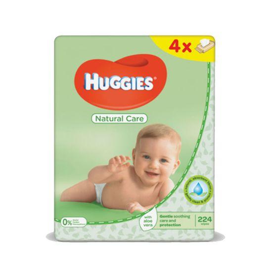 Салфетки влажные Huggies Natural Care, 56шт х 4уп., арт. 5029053550183