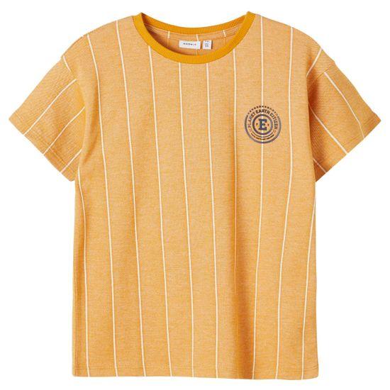 Футболка Name it George, арт. 211.13187586.SYEL, цвет Оранжевый