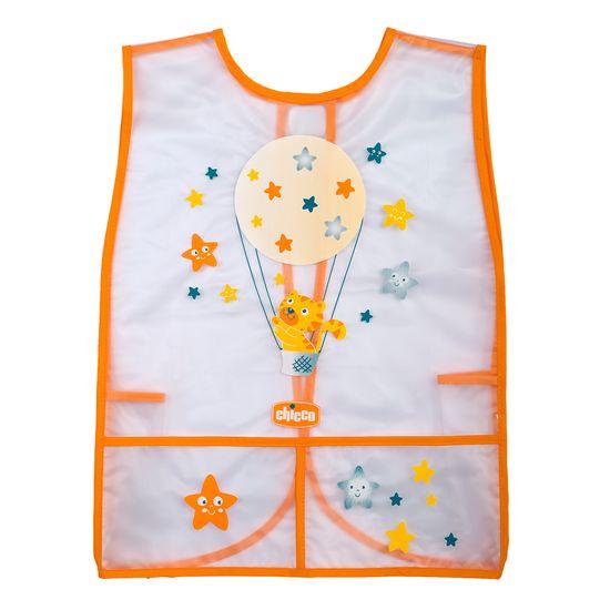 Фартук-накидка для рисования Chicco Cat, арт. 016.58731.600, цвет Оранжевый