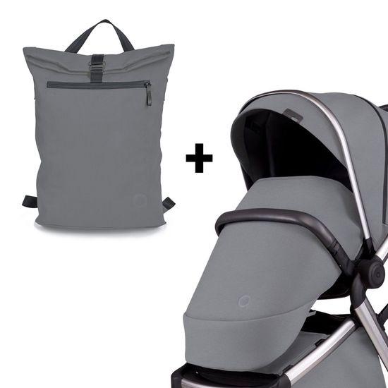 Комплект аксессуаров Anex l/type: рюкзак и накидка для ног, арт. lt-01t-acc, цвет Серый