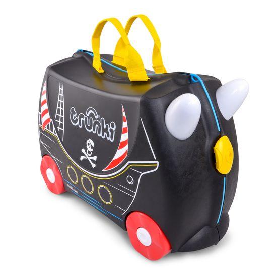 "Детский чемодан Trunki ""Pedro the Pirate Ship"", арт. 0312-GB01, цвет Черный"