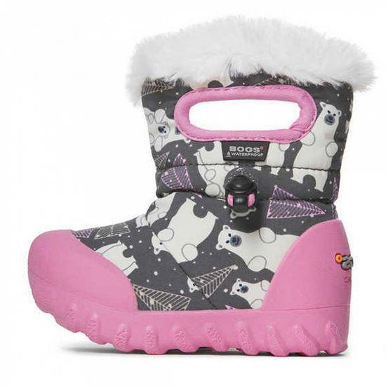 Сапоги Bogs B-Moc Bears, арт. 203.72179I.074, цвет Розовый