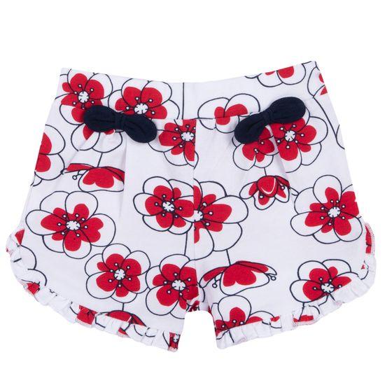 Шорты Chicco Cute bows white, арт. 090.52928.037, цвет Красный