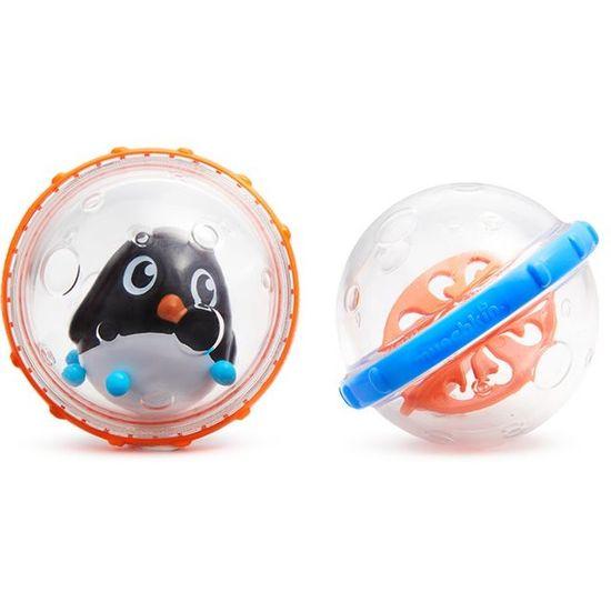 """Игрушка для ванной Munchkin """"Плавающие пузырьки"""", арт. 011584, цвет Оранжевый"""