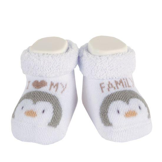 Носки Chicco Amigos penguin, арт. 090.01596.030, цвет Белый