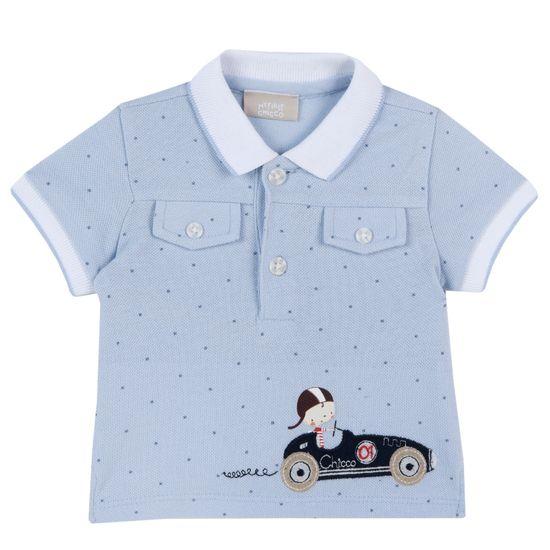 Поло Chicco Racer , арт. 090.33574.021, цвет Голубой
