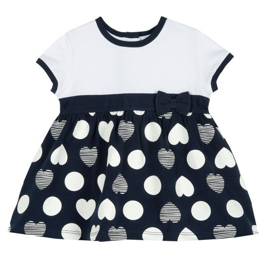 Платье Chicco Little Nicoletta, арт. 090.03805.088, цвет Синий