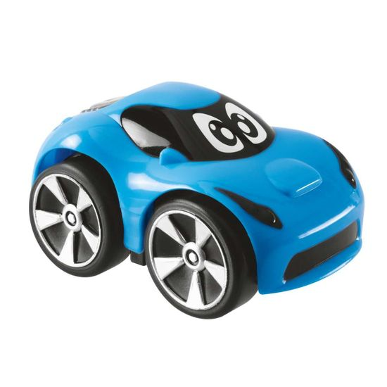"Машинка инерционная Chicco ""Bond, Mini Turbo Touch"", арт. 09362.00, цвет Голубой"