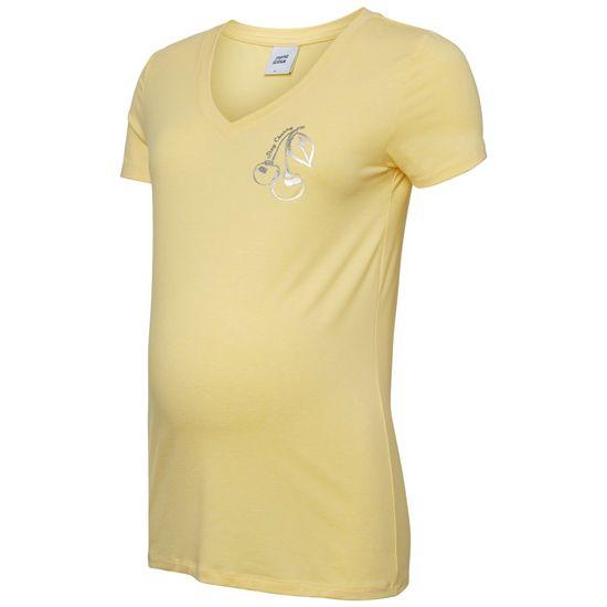 Футболка для беременных Mamalicious Cherry, арт. 193.20009673.SNAP, цвет Желтый