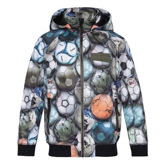 Куртка Softshell Molo Cloudy Football Camo, арт. 5S21L102.6320, цвет Оливковый
