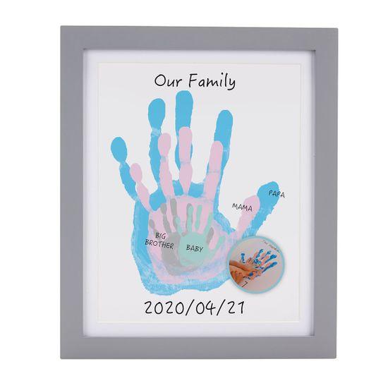 """Подарочный набор для отпечатков """"Моя семья"""" (серый), арт. P63024, цвет Серый"""