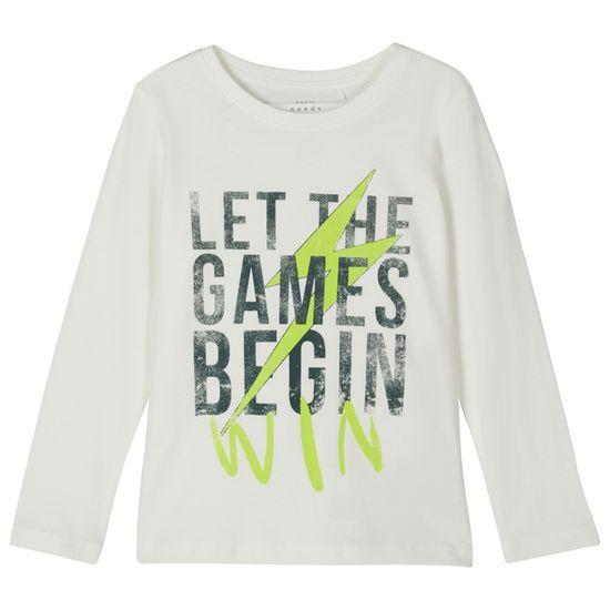 Реглан Name it Games begin, арт. 203.13179191.SWHI, цвет Белый