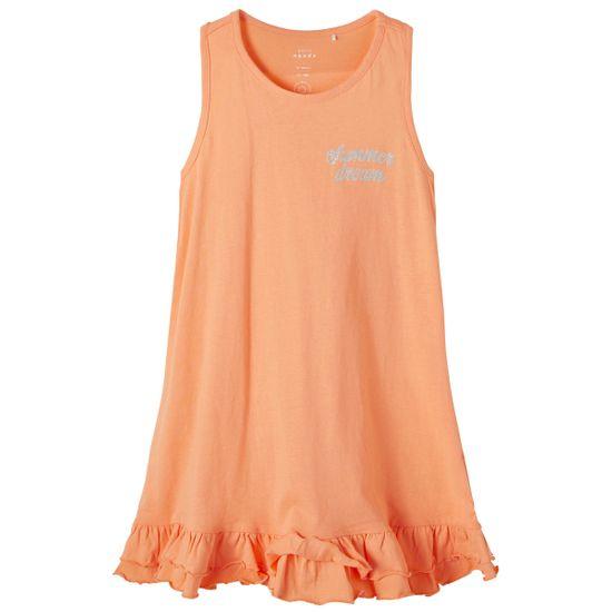 Платье Name it Dreamer orange, арт. 211.13189294.CANT, цвет Оранжевый