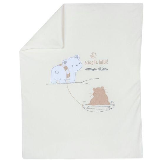 Плед Chicco Amigos polar bear, арт. 090.05182.030, цвет Белый