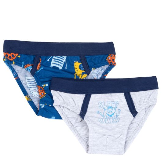 Трусы (2 шт) Chicco Sleep over, арт. 090.11528.091, цвет Синий