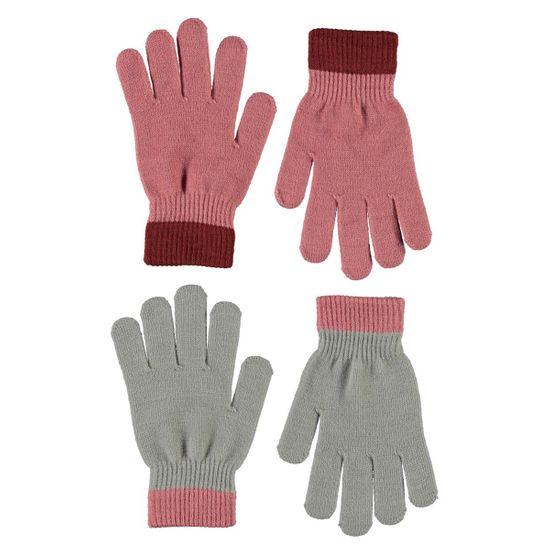 Перчатки (2 пары) Molo Kello Maple, арт. 7W21S205.8334, цвет Розовый