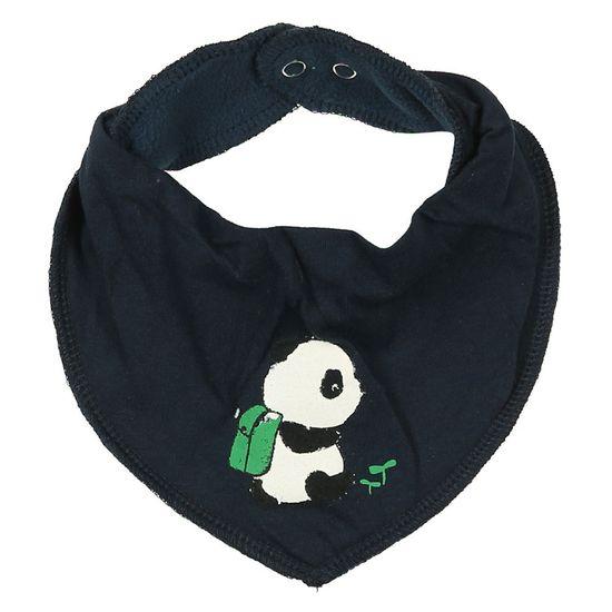 Слюнявчик Name it Baby panda, арт. 201.13173690.DSAP, цвет Синий