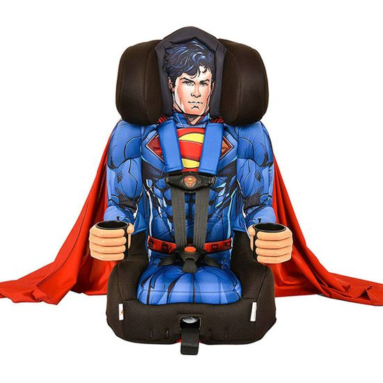 Автокресло KidsEmbrace DC Comics Superman, группа 1/2/3, арт. 3001SPMUKR, цвет Голубой