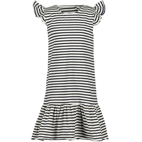 Платье Name it Nicoletta, арт. 201.13175004.BWHI, цвет Синий с белым