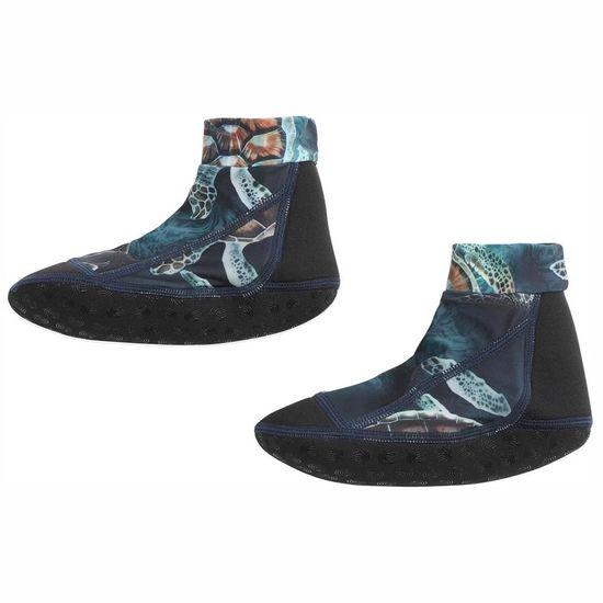Носки-аквашузы для плавания Molo Zabi Sea Turtles, арт. 7S21U301.6213, цвет Синий