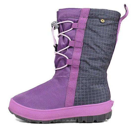 Сапоги Bogs Snownights purple, арт. 193.72438.540, цвет Фиолетовый