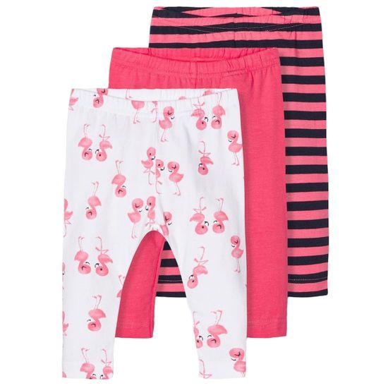 Леггинсы (3 шт) Name it Flamingo, арт. 203.13178157.CCOR, цвет Коралловый