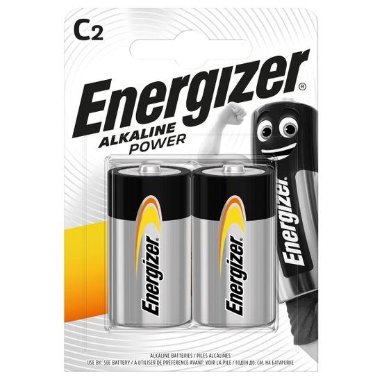 Батарейки Energizer C Alk Power, 2 шт., арт. 6429541