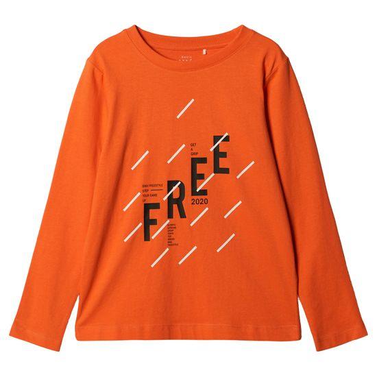 Реглан Name it Free, арт. 203.13179179.TIGE, цвет Оранжевый