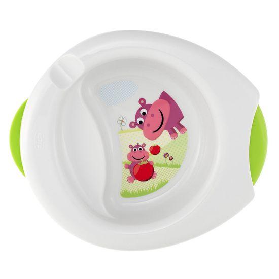 Термоустойчивая тарелка Chicco Stay Warm 2в1, 6м+, арт. 06826