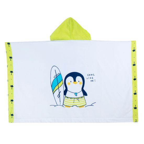 Полотенце Chicco Cool life, арт. 090.40974.035, цвет Белый с салатовым