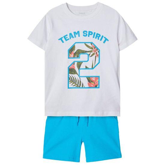 Костюм Name it Simroy: футболка и шорты, арт. 201.13174801.HOCE, цвет Белый