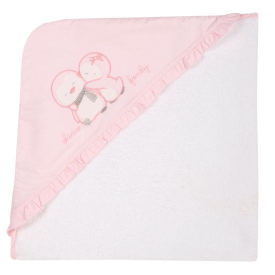 Полотенце Chicco Family, арт. 090.40671.011, цвет Розовый