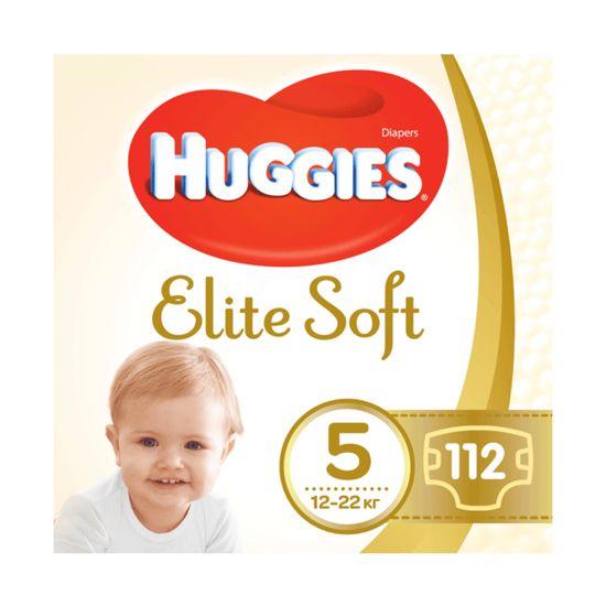 Подгузники Huggies Elite Soft, размер 5, 12-22 кг, 112 шт, арт. 5029054566237
