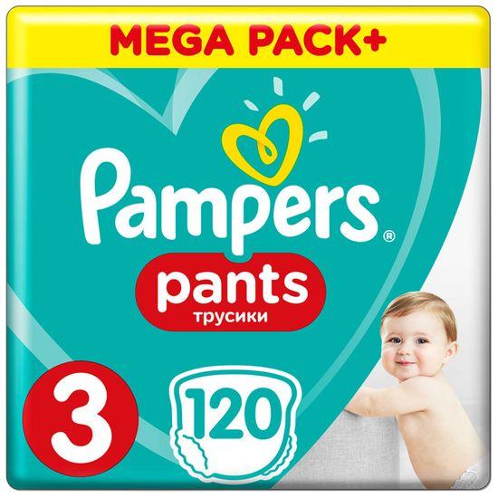 Подгузники-трусики Pampers Pants, размер 3, 6-11кг, 120 шт, арт. 4015400697527