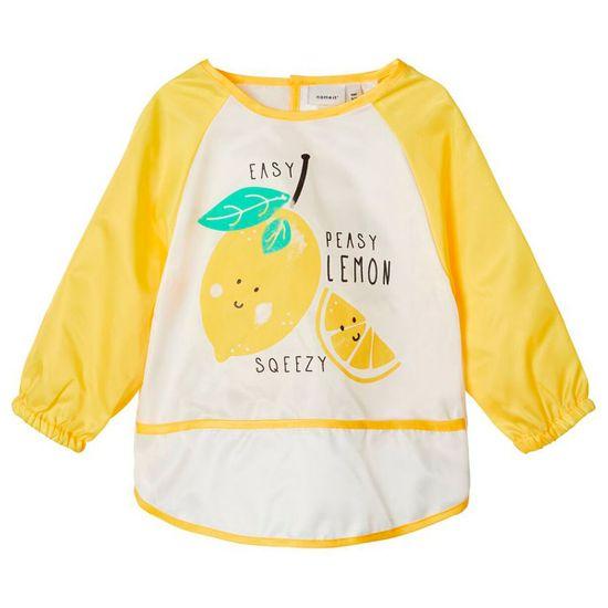 Нагрудник с рукавами Name it Lemon, арт. 201.13177181.AGOL, цвет Желтый