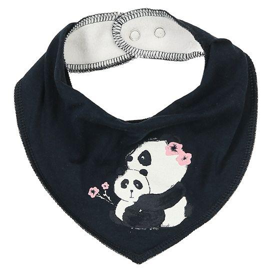Слюнявчик Name it Lovely panda, арт. 201.13173683.DSAP, цвет Синий