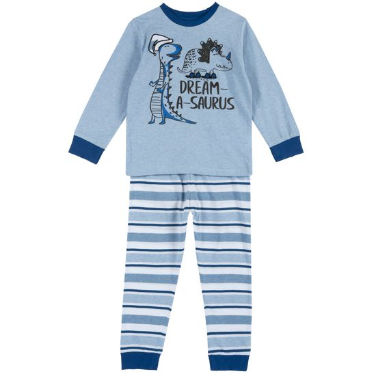 Пижама Chicco Cute dinosaurs, арт. 090.31354.025, цвет Голубой