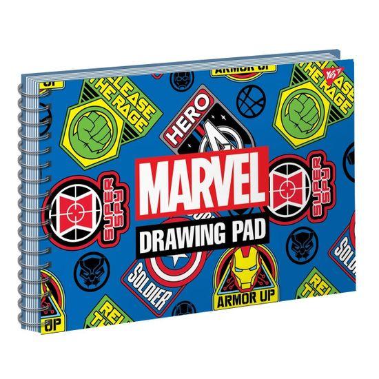 "Альбом для рисования YES ""MARVEL"" на спирали, А4, 20 л., арт. 130443"