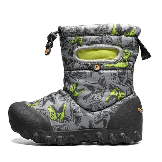 Сапоги Bogs Kids B-Moc Snow Cool Dinos, арт. 213.72758K.062, цвет Серый