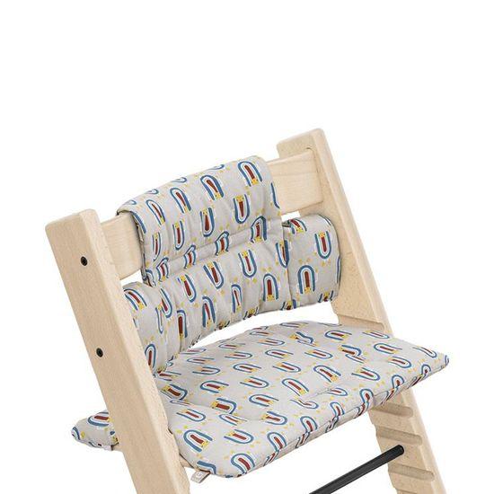 Текстиль для стульчика Stokke Tripp Trapp, от 18 мес., арт. 1003, цвет Robot Grey