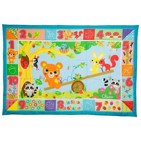 """Игровой коврик Chicco """"Forest XXL"""", арт. 07945.00, цвет Голубой"""