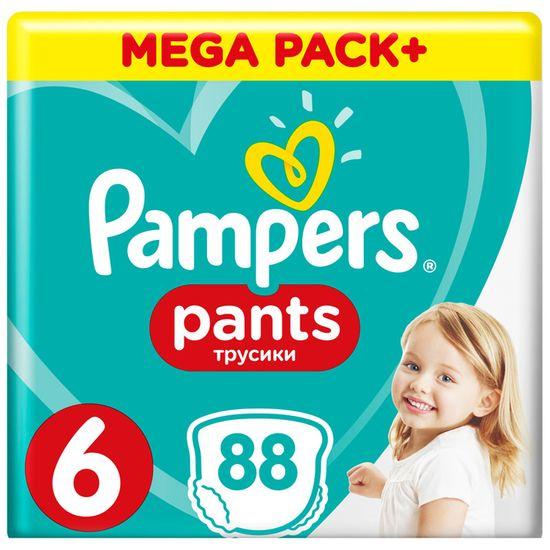 Подгузники-трусики Pampers Pants, размер 6, 15+ кг,  88 шт, арт. 4015400697558