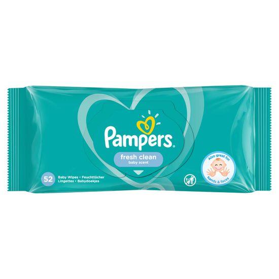 Детские влажные салфетки Pampers Fresh Clean, 52 шт, арт. 8001841041360