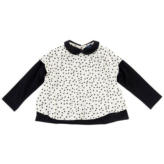 Блуза Chicco Black & White, арт. 090.54363, цвет Белый