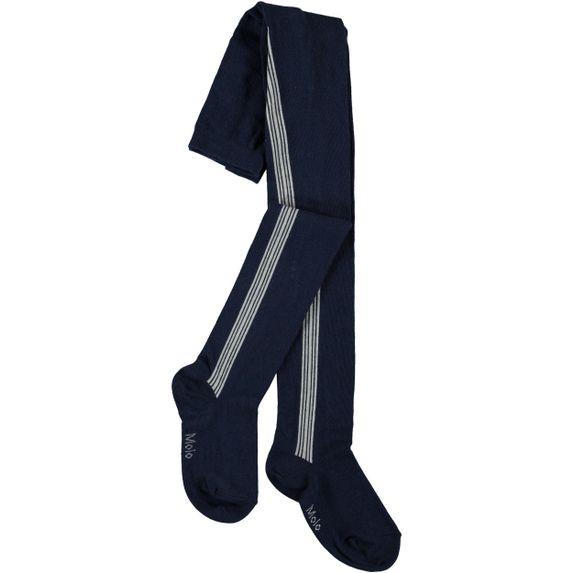 Колготы Molo Sports Stripe Tights, арт. 7W19G209.2460, цвет Синий