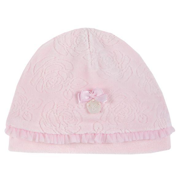 Шапка велюровая Chicco Rose, арт. 090.04690.011, цвет Розовый