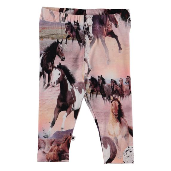 Леггинсы Molo Stefanie Wild Horses, арт. 4S19F205.4183, цвет Розовый