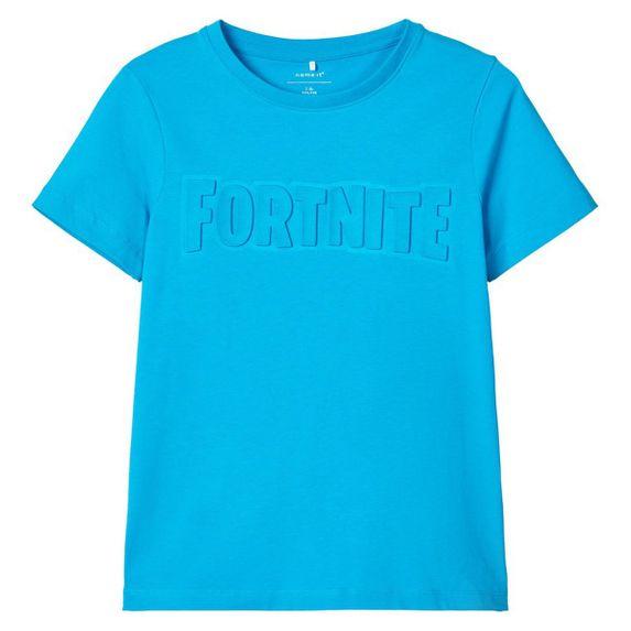 Футболка Name it Fortnite, арт. 201.13177707.HOCE, цвет Голубой
